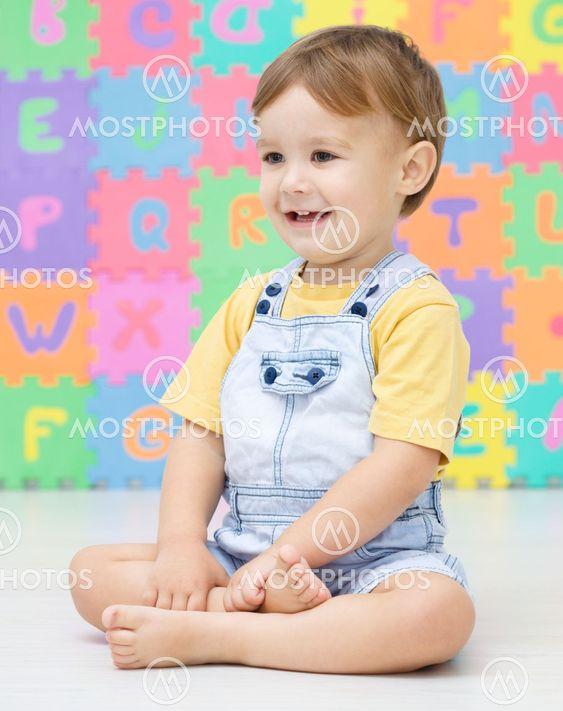 Portrait of a little boy