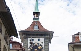 Zytglogge clock tower in Bern, Switzerland