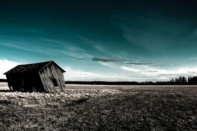 deserted haunted house