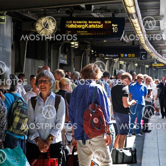 Trångt på Stockholm C 2