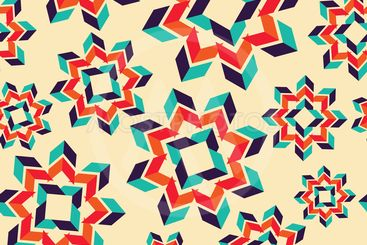 Abstract seamless pattern with  circle elements.