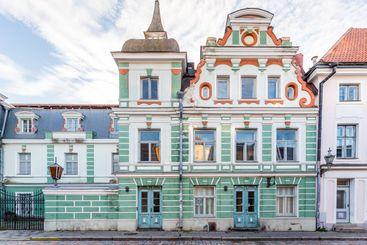 Colorfull houses Tallinn, Estonia