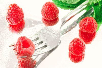 Rasberries & Mint