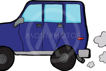 Polluting Vehicle