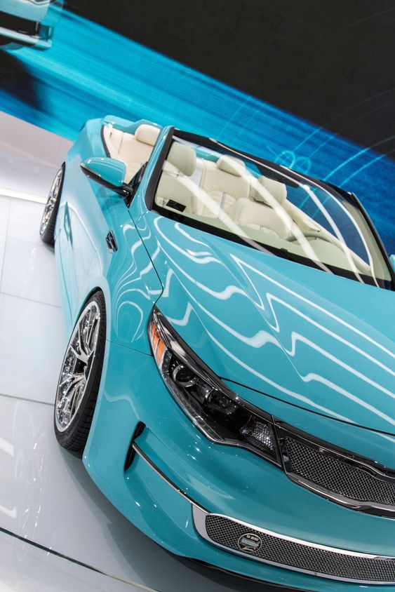 DETROIT - JANUARY 17 :The 2017 Kia A1A Optima concept at...