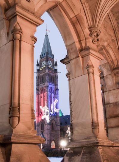 Tower through Arch