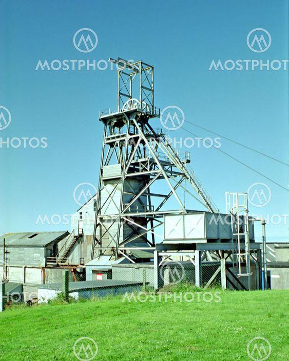 Tin Mine Winding Gear