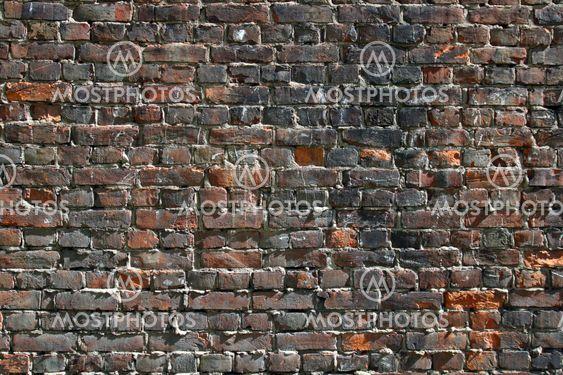 gamla tegel vägg