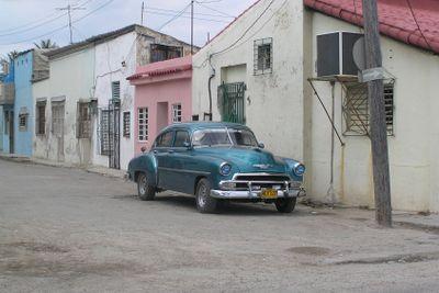 Old car at Cuba