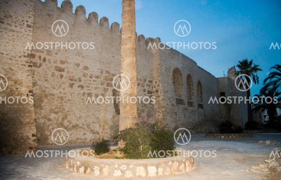 Medina is the old city and fortress ribat of Sousse in...