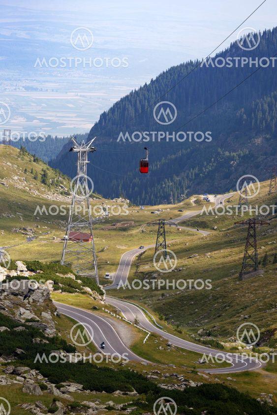 beautiful mountain road