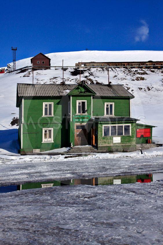 Stuga i Barentsburg