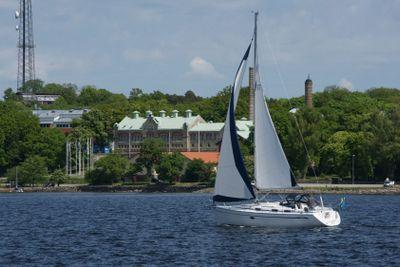 Sailboat in Karlskrona