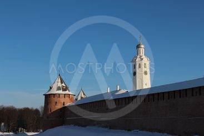 Great Novgorod, winter, Kremlin