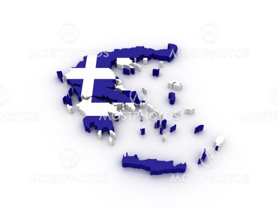Karta Europa Grekland.Karta Over Grekland Av Cofkocof Mostphotos