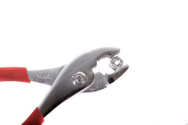 Pliers and Nut