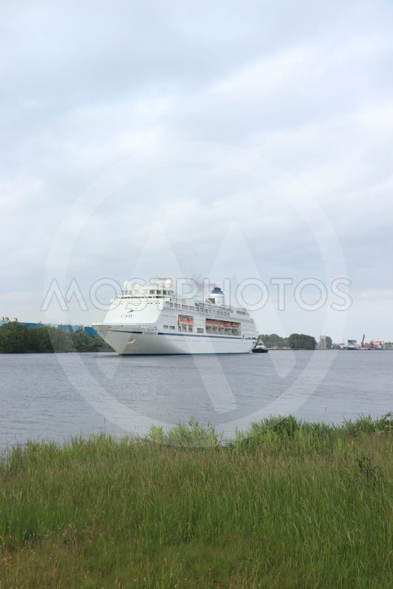 Velsen, The Netherlands - May 30th, 2019: Columbus of...