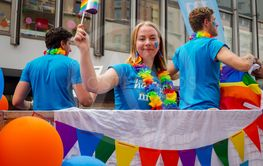 Moderaterna på Pride 12