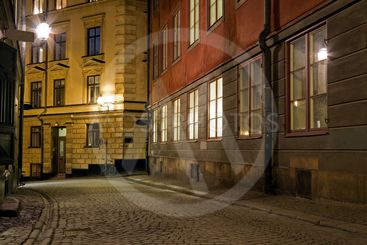 Old Town night image.
