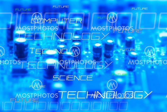 High-tec background