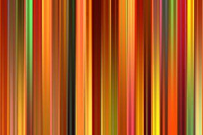 Psychedelic orange color stripes background.
