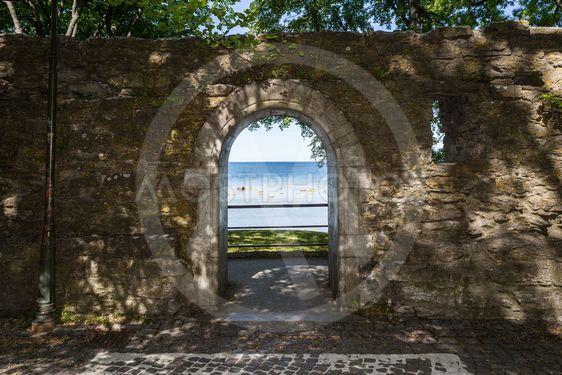 Öppning mur