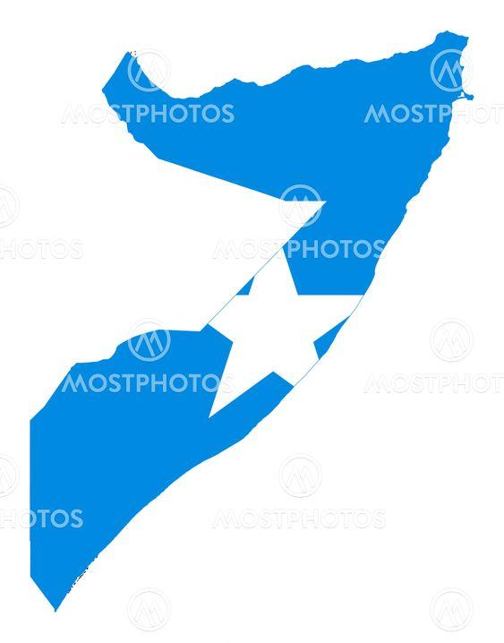 Somalia Kort Flag Fra Speedfighter17 Mostphotos