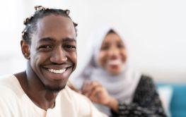 african couple muslim