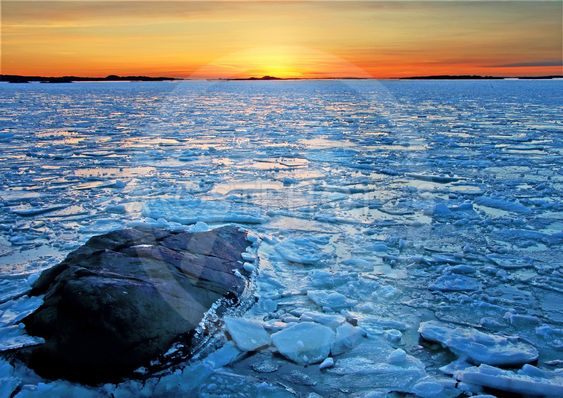 Opløsningen af isen