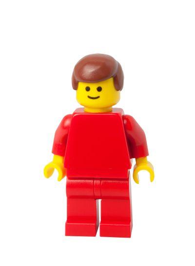 Vintage Lego Townsperson Minifigure