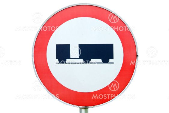 Fahrverbot f?r Anhaenger | ban on driving for trailer
