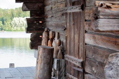 age-old hut