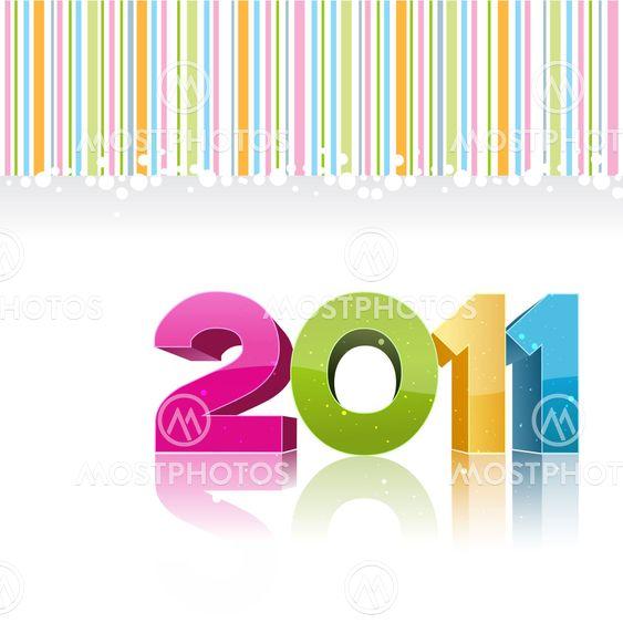 2011 nyårskort