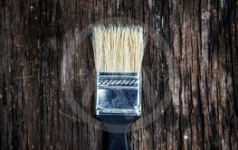 Paint Brush closeup