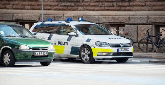 Dansk polisbil, Politi