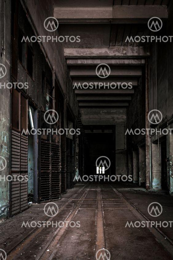 Dark Industrial Interior By Anna Vaczi Mostphotos