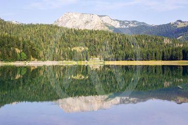 Black Lake on Durmitor Mountain in Montenegro