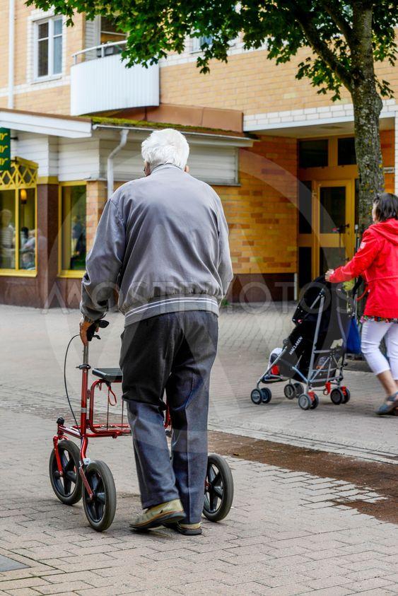 På äldre dar