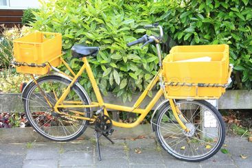 mail bicycle
