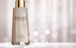 Design Cosmetics Product  Template for Ads or Magazine...