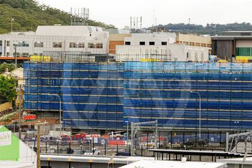 Gosford Hospital building progress H47ed October 2018.