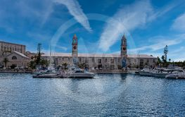 Royal Naval Dockyard in Bermuda's West End