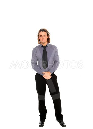 young business man full body