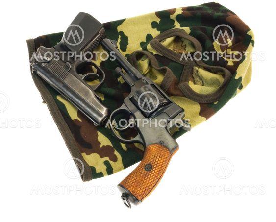 kanoner og maske