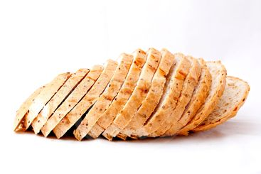 soy bread slices