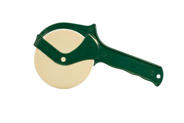 plastic pizza cutter isolated
