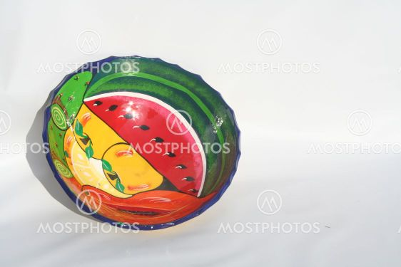 Målade skål