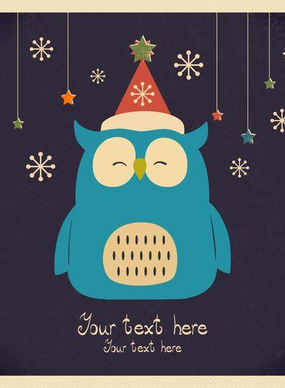 Christmas owl.