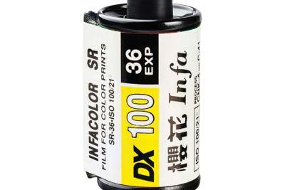 INFACOLOR color print film cartridge