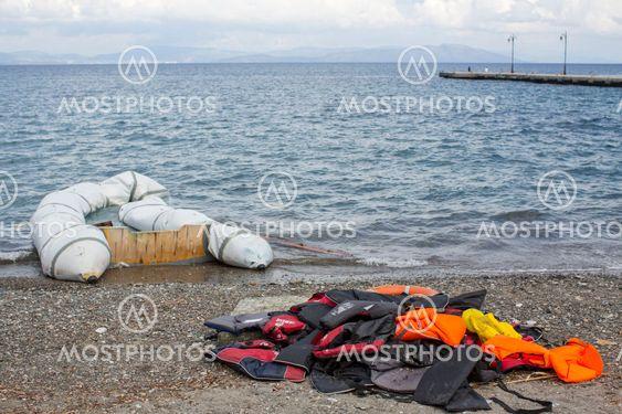 Refugee crisis, Kos island, Greece.